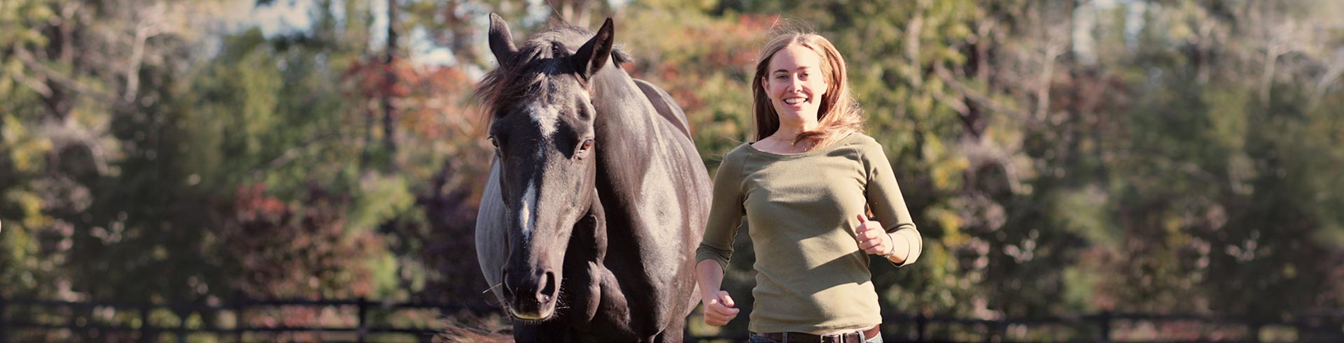 Emily with horse